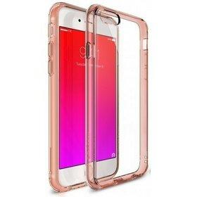 Husa iPhone 6 Plus / iPhone 6s Plus Ringke FUSION ROSE GOLD+BONUS folie protectie display Ringke