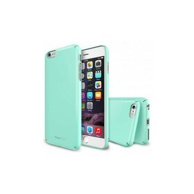 Husa iPhone 6 Plus Ringke SLIM MINT+BONUS Ringke Invisible Defender Screen Protector