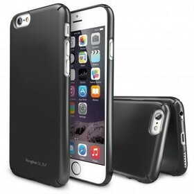 Husa iPhone 6 Ringke SLIM GUN METAL + BONUS folie protectie display Ringke