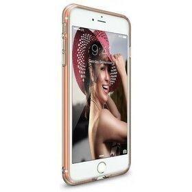 Husa iPhone 7 Plus Ringke AIR ROSE GOLD + BONUS folie protectie display Ringke
