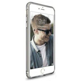 Husa iPhone 7 Plus Ringke AIR SMOKE BLACK + BONUS folie protectie display Ringke