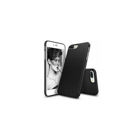 Husa iPhone 7 Plus Ringke Slim BLACK + BONUS folie protectie display Ringke