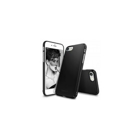 Husa iPhone 7 Ringke Slim BLACK + BONUS folie protectie display Ringke