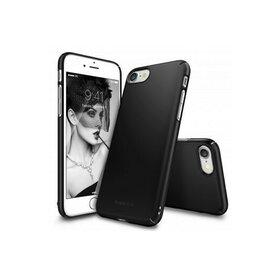 Husa iPhone 7 Ringke Slim BLACK + BONUS folie protectie display Ringke