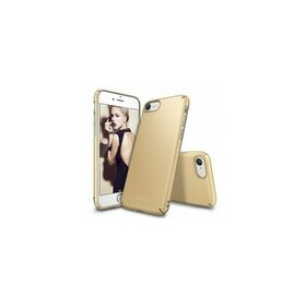 Husa iPhone 7 Ringke Slim ROYAL GOLD + BONUS folie protectie display Ringke