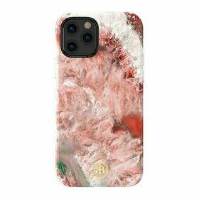 Husa Kingxbar Agat Decorated Series pentru iPhone 12 Pro / iPhone 12
