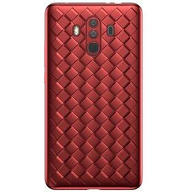 Husa Leather Baseus pentru Hauwei Mate 10 Pro Red