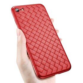 Husa Leather Baseus pentru iPhone 7 Red
