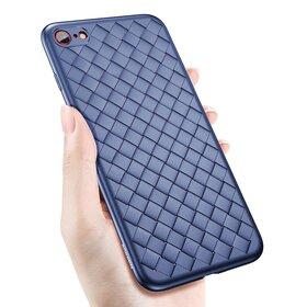 Husa Leather Baseus pentru iPhone 7 Plus Blue