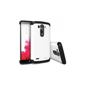 Husa LG G3 Ringke MAX WHITE+BONUS folie protectie display Ringke