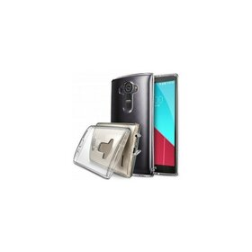 Husa LG G4 Ringke Fusion CRYSTAL VIEW TRANSPARENT+BONUS folie protect display Ringke