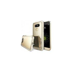 Husa LG G5 Ringke FUSION MIRROR ROYAL GOLD + folie Ringke cadou