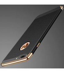 Husa Luxury cu perforatii pentru iPhone 7+
