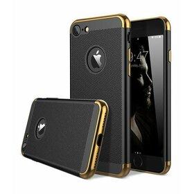 Husa Luxury cu perforatii pentru iPhone 7 Plus Black