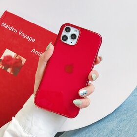 Husa Luxury pentru iPhone 7 Plus/ iPhone 8 Plus Red