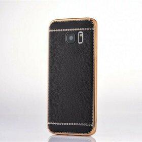 Husa Luxury Leather pentru Galaxy S7 Edge