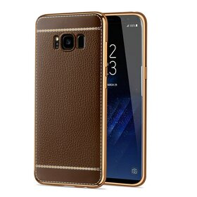Husa Luxury Leather pentru Galaxy S8