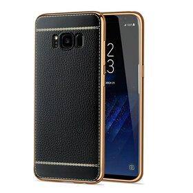 Husa Luxury Leather pentru Galaxy S8 Plus