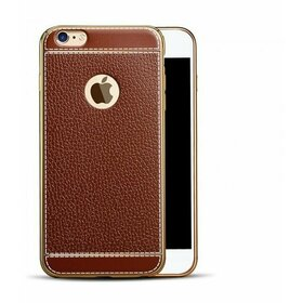 Husa Luxury Leather pentru iPhone 5/5s/SE