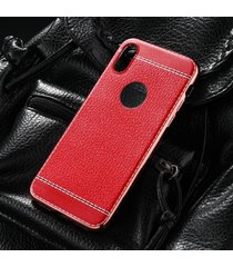Husa Luxury Leather pentru iPhone X