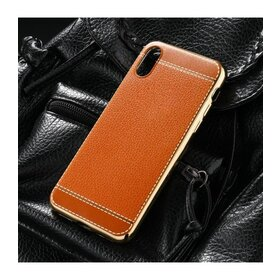 Husa Luxury Leather pentru iPhone X/ iPhone XS