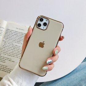 Husa Luxury pentru iPhone 11 Pro Gold