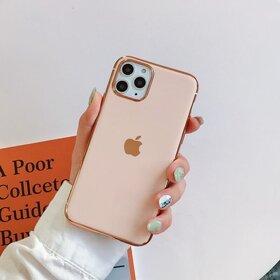 Husa Luxury pentru iPhone 11 Pro Rose Gold