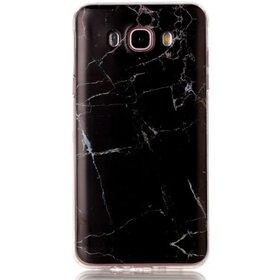 Husa Marble pentru Galaxy A3 (2017) Black