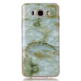 Husa Marble pentru Galaxy A3 (2017) Green