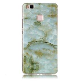 Husa Marble pentru Huawei P8 lite Green