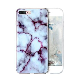 Husa Marble pentru iPhone 7 Plus/ iPhone 8 Plus