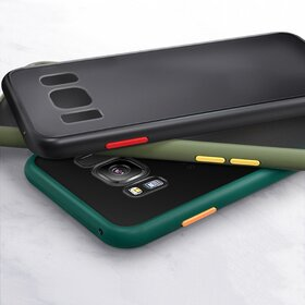 Husa mata cu bumper din silicon pentru Galaxy Note 10