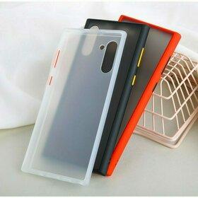 Husa mata cu bumper din silicon pentru Galaxy Note 10 Plus