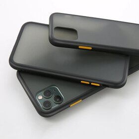 Husa mata cu bumper din silicon pentru Huawei P Smart (2019) Black