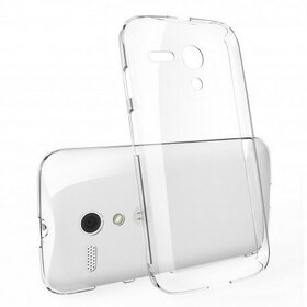 Husa Moto G 1st Gen 2013 Ringke SLIM CRYSTAL TRANSPARENT+BONUS folie protectie display Ringke
