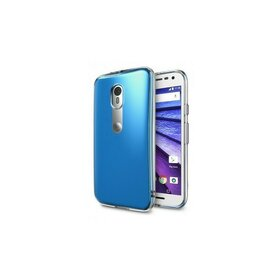 Husa Moto G 2015 Ringke FUSION CRYSTAL VIEW TRANSPARENT+BONUS folie protectie display Ringke