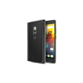 Husa OnePlus 2 Ringke FUSION SMOKE BLACK + BONUS folie protectie display Ringke