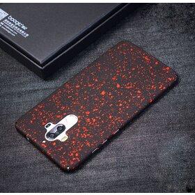 Husa Paint Mata pentru Huawei Mate 9 Red