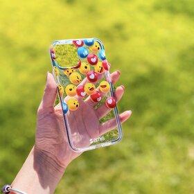 Husa pentru Galaxy A20e din silicon cu Emoticoane