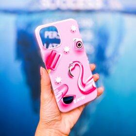 Husa pentru Galaxy A50/ Galaxy A30s din silicon cu Flamingo