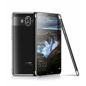 Husa Plating pentru Huawei Mate 10  Silver