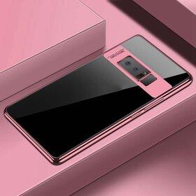 Husa Plating Transparenta pentru Galaxy Note 8