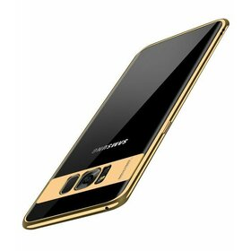 Husa Plating Transparenta pentru Galaxy S7