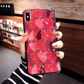 Husa protectie cu model inimi pentru Huawei Mate 20