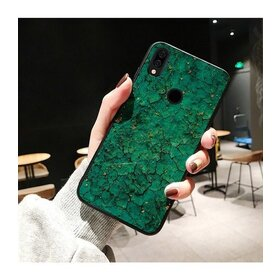 Husa protectie cu model marble pentru Huawei Mate 20 Lite Green