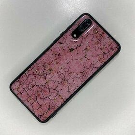 Husa protectie cu model marble pentru Huawei P20 Pink