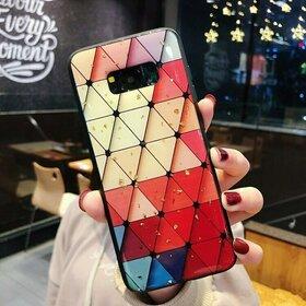 Husa protectie cu model multicolor pentru Galaxy J6 Plus (2018)