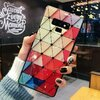 Husa protectie cu model multicolor pentru Galaxy S9 Plus