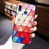 Husa protectie cu model multicolor pentru Huawei Mate 20
