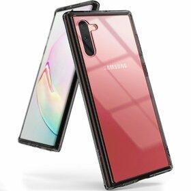 Husa Ringke Fusion PC + Bumper TPU pentru Samsung Galaxy Note 10 Plus Black
